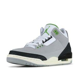 "NEW Nike Air Jordan 3 Retro ""Chlorophyll""  Size 11"